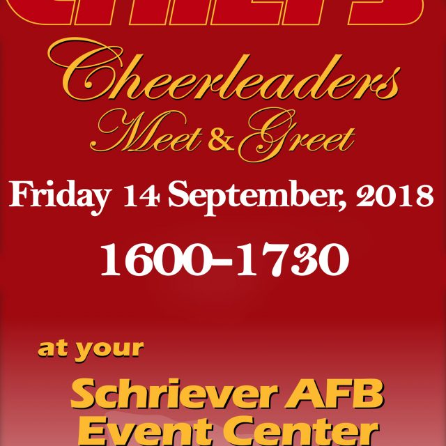 Schriever AFB CHIEFS Cheerleaders Meet&Greet